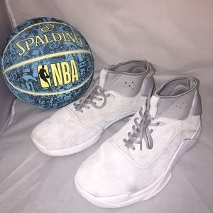 Men's suede Nike basketball shoes